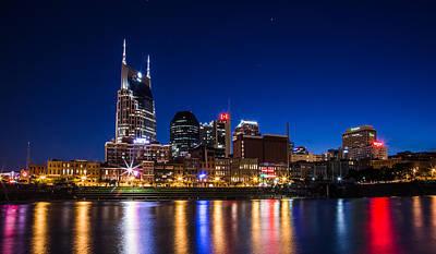 Nashville Magic Hour  Poster by John McGraw