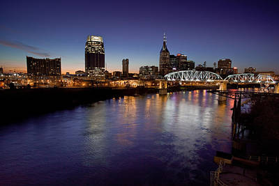 Nashville's River Poster