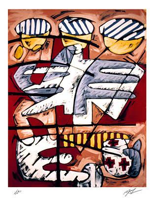 Nassau Good Friday Poster by Philip Slagter