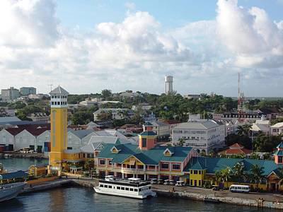 Nassau In The Bahamas Poster by Teresa Schomig