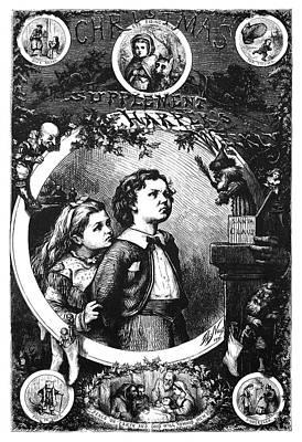 Nast Christmas, 1870 Poster
