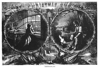 Nast Christmas Eve, 1862 Poster by Granger