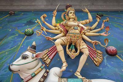 Nataraj Dancing Shiva Statue Poster by JPLDesigns