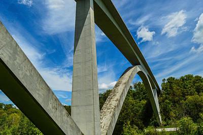 Natchez Trace Parkway Bridge Poster
