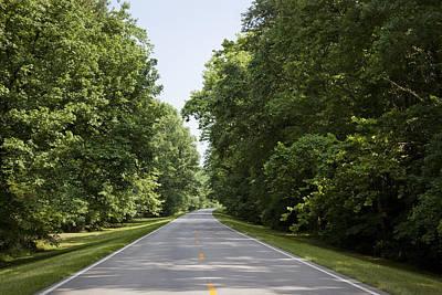 Natchez Trace Parkway In Cobert County Poster