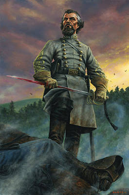Nathan Bedford Forrest Poster by Dan Nance