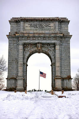 National Memorial Arch Poster by Olivier Le Queinec