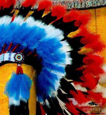 Native American Headdress Poster