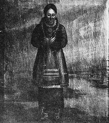 Native American Woman Poster by Granger