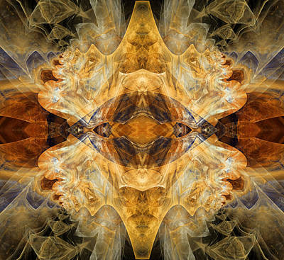 Native Charm - Abstract Poster
