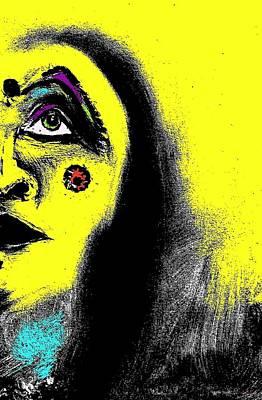 Native Immortal Woman  Poster by Ayasha Loya