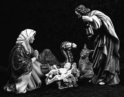 Poster featuring the photograph Nativity  by Elf Evans