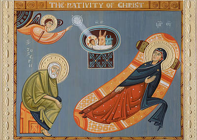 Nativity Of Christ. 2014 Poster