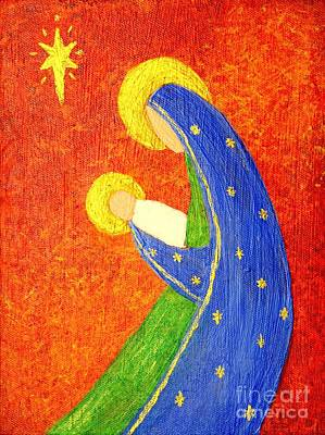 Nativity Poster by Pattie Calfy