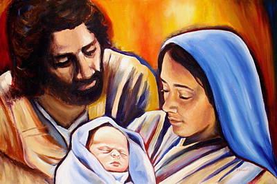 Nativity Poster by Sheila Diemert