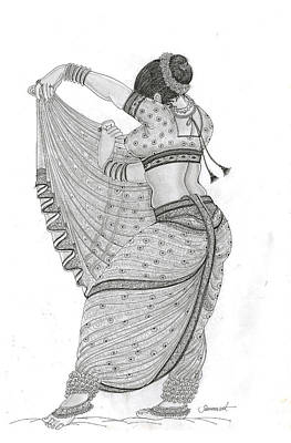 Dancer Poster by Art Tantra
