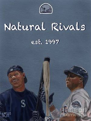 Natural Rivals Poster by Jeremy Nash