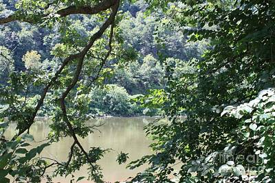 Nature's Frame Of The Delaware Water Gap Poster