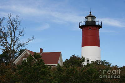 Nauset Beach Light Poster by Christiane Schulze Art And Photography