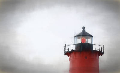 Nauset Lantern And Catwalk Poster by PepperMillPatty Photography