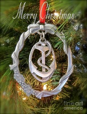 Nautical Christmas  Poster