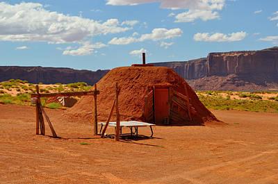 Navajo Home Poster by Ruben Barbosa