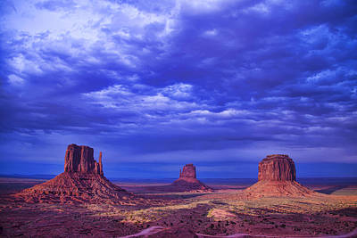 Navajo Monument Valley Poster