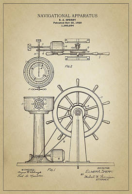 Navigational Apparatus Poster by Ambro Fine Art
