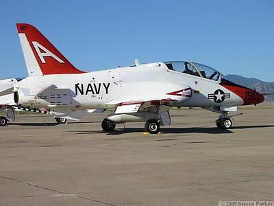 Navy T-45 Goshawk Poster by Steven Parker