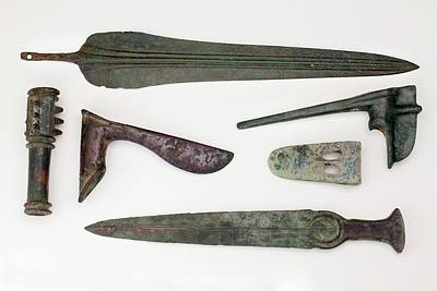 Near East Bronze Age Weapons Poster