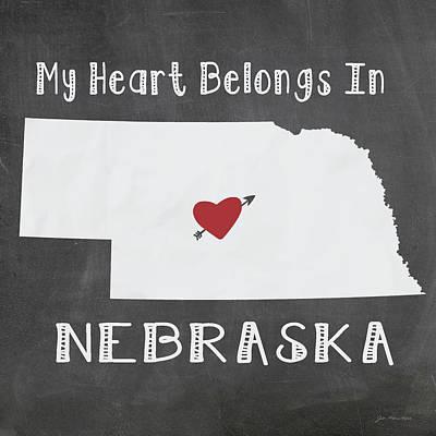 Nebraska Poster by Jo Moulton