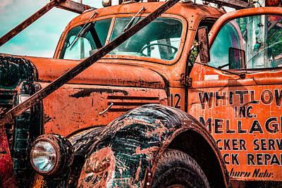 Nebraska Truck Repair Poster by Steven Bateson