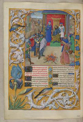 Nebuchadnezzar Burning The Books Poster