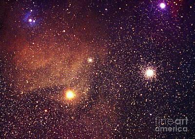 Nebula Ic4606 Poster