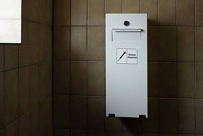 Needle Disposal Bin Poster