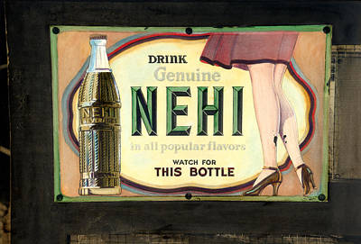 Nehi Poster by Cindy McIntyre