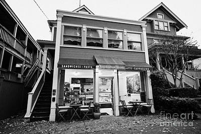 neighbourhood grocery and small deli in west end Vancouver BC Canada Poster by Joe Fox