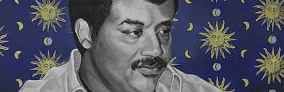 Neil Degrasse Tyson Poster by Simon Kregar