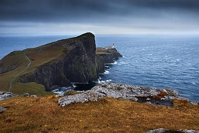Neist Point Lighthouse Poster by Keith Thorburn LRPS