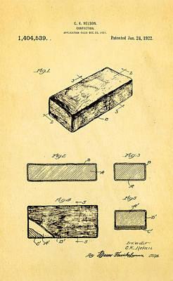 Nelson Eskimo Pie Patent Art 1922 Poster by Ian Monk