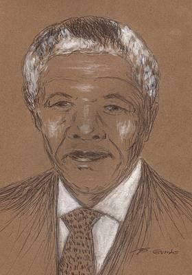 Nelson Mandela Poster by Bob Gumbs