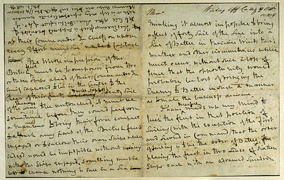 Nelson Memorandum Poster by British Library