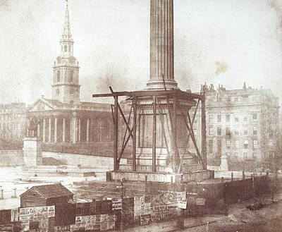 Nelson's Column Construction Poster