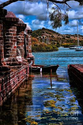 Nelson's Dockyard Antigua Poster by Tom Prendergast