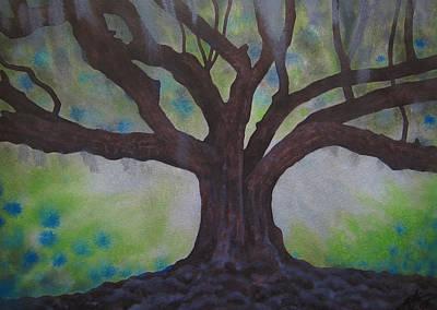 Nemeton Iv Or Southern Live Oak Poster