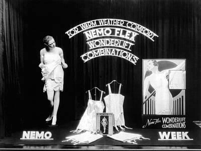 Nemoflex Wonderlift Garments Poster by Underwood Archives