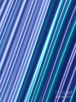 Neon Abstract Poster