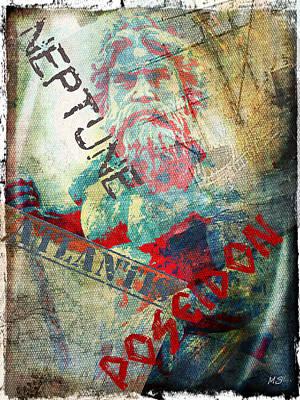 Neptune Pop Art Poster
