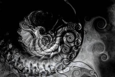 Neptune's Chariot Poster by Hakon Soreide