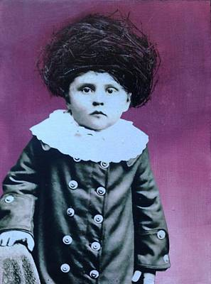 Nesting Series Purple Boy Poster